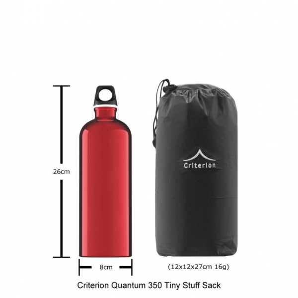 Criterion quantum 350 down sleeping bag