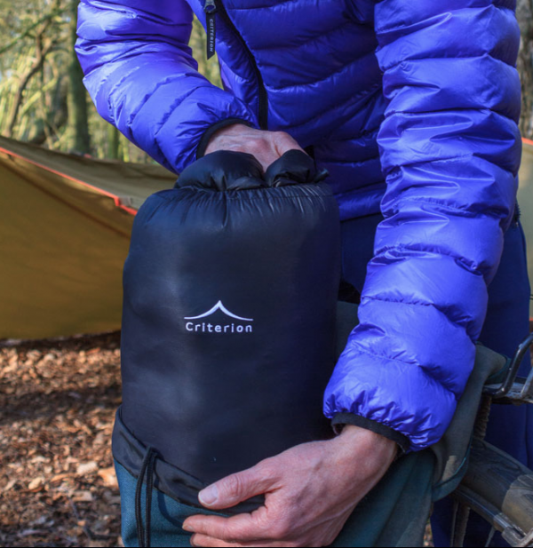 Criterion quantum 450 down sleeping bag