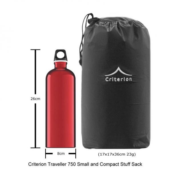 Criterion traveller 750 down sleeping bag