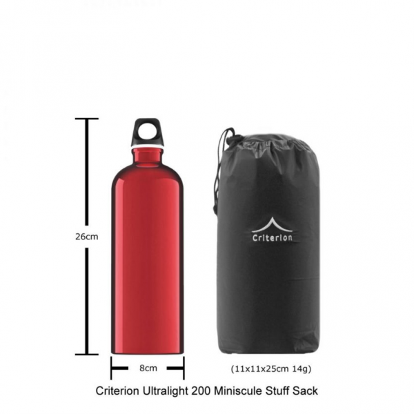 Criterion ultralight 200 down sleeping bag