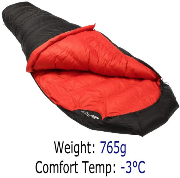 Criterion ultralight 350 down sleeping bag