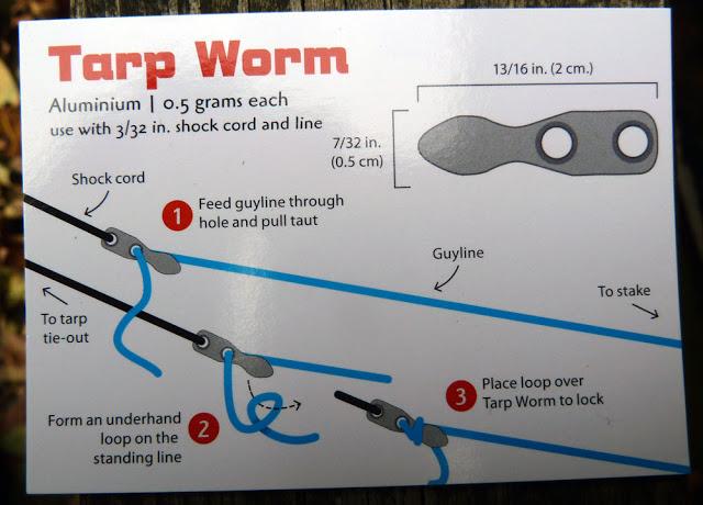 tarp worm set up